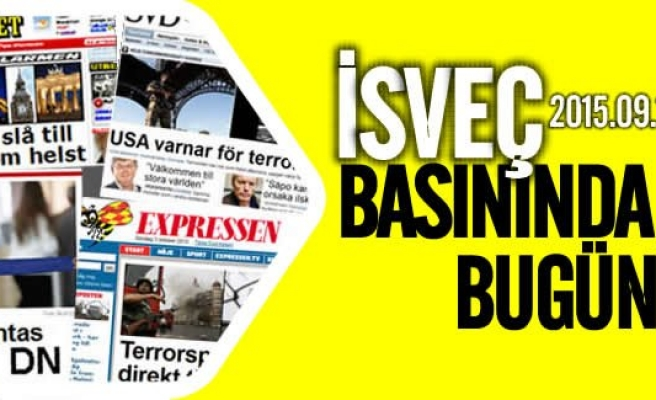 İsveç medyası Türkiye'yi hedef almaya devam ediyor