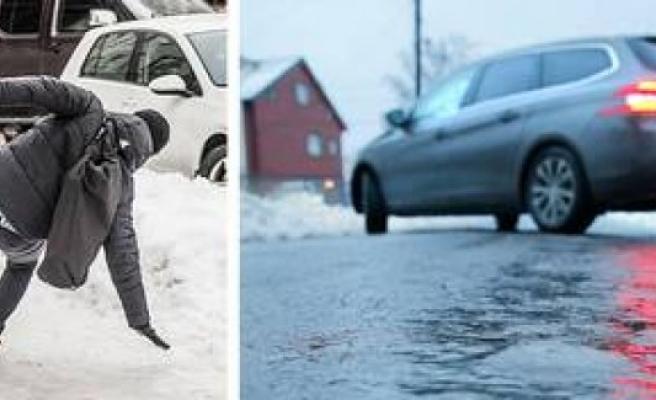 İsveç Meteorolojisinden Gizli Buzlanma Uyarısı