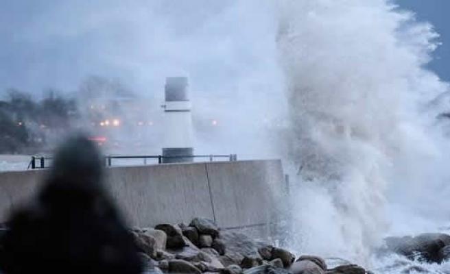 İsveç, Norveç ve Danimarka fırtınanın pençesinde - FOTO