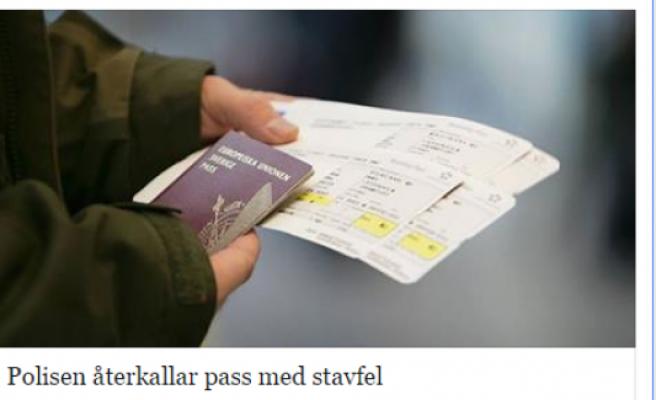 İsveç pasaportunu yenileyenler kontrol etsin! Aksi halde yurt dışına çıkamazsınız