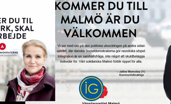 İsveç Sol Parti'den Danimarka başbakanına 'ırkçı'' benzetmesi