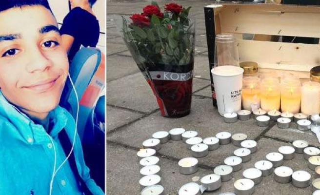 İsveç'te 16 yaşındaki Ahmet sokak ortasın da öldürüldü...
