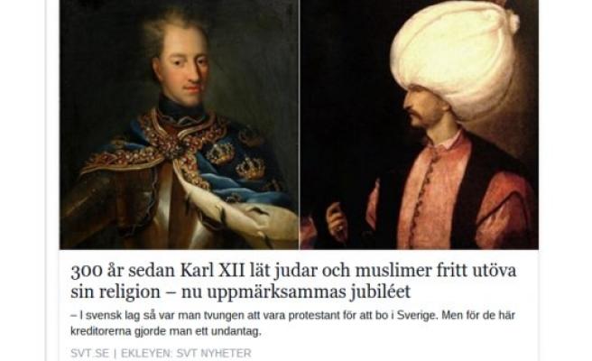 İsveç'te 300 yıl önce Osmanlı ile gelen tarihi karar