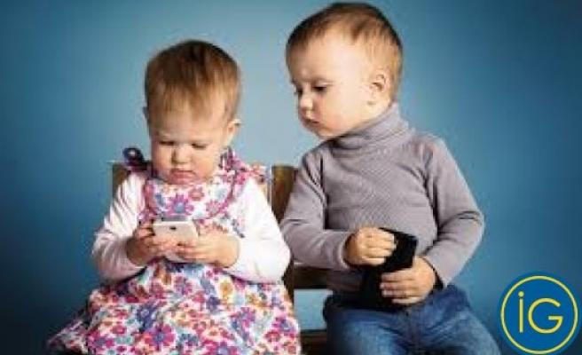 İsveç'te artık bebeklerde internet kullanıyor
