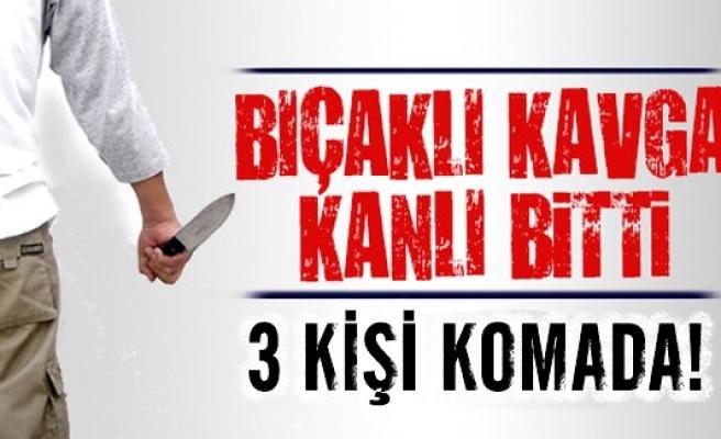 İsveç'te bıçaklı kavga 3 kişi komada!