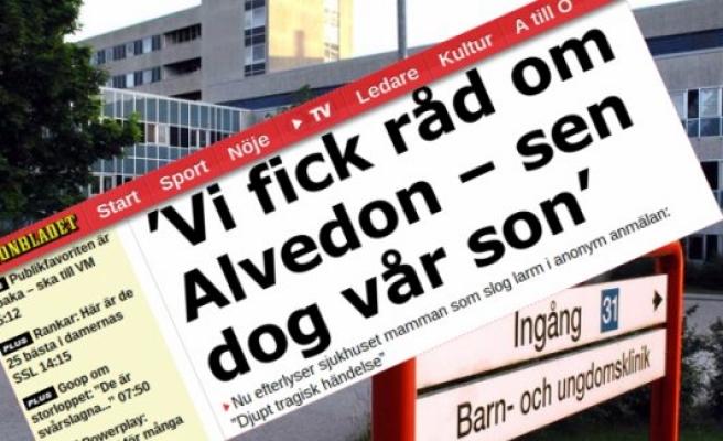 İsveç'te bir Alvedon vakıası daha: 8 yaşında ki çocuk öldü