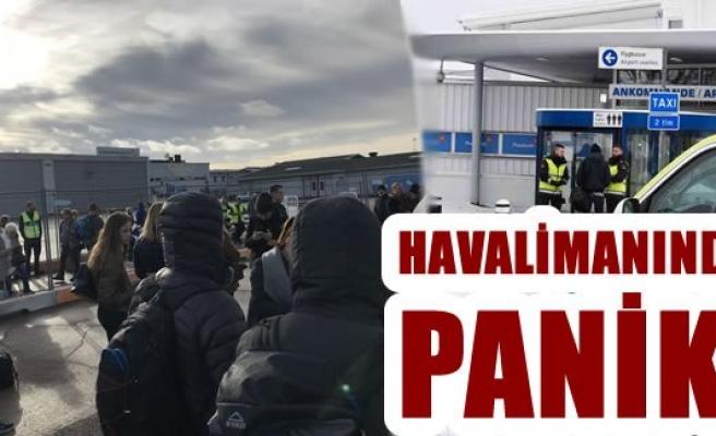 İsveç'te bomba paniği! Havalimanı boşaltıldı