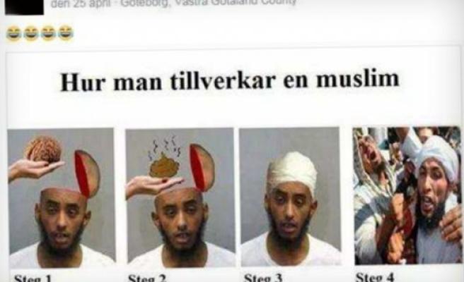 İsveç'te bu fotoğrafı paylaşan kişiye soruşturma başlatıldı