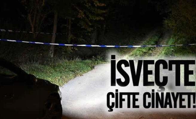 İsveç'te çifte cinayet!