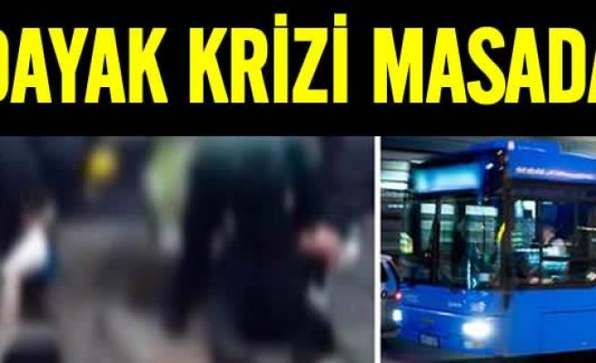 İsveç'te günün konusu otobüs şoförüne dayak!