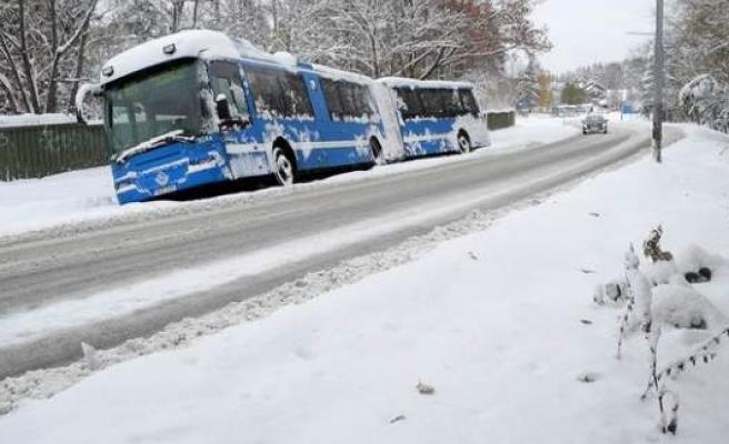 İsveç'te hava sıcaklığı eksi 36'yı buldu