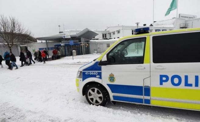 İsveç'te Havalimanın'da bir çantada patlayıcı toz bulundu