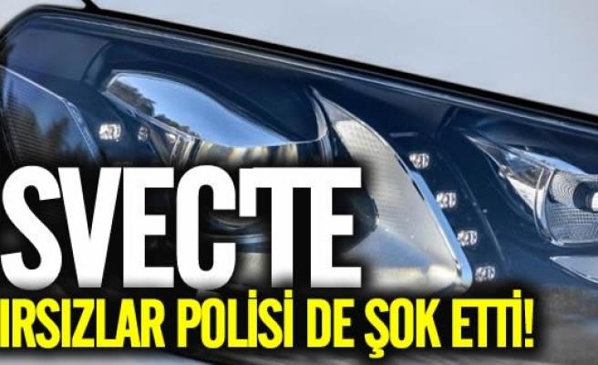 İsveç'te hırsızların akıl almaz yöntemi
