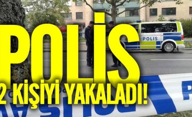 İsveç'te iki kişi daha yakalandı