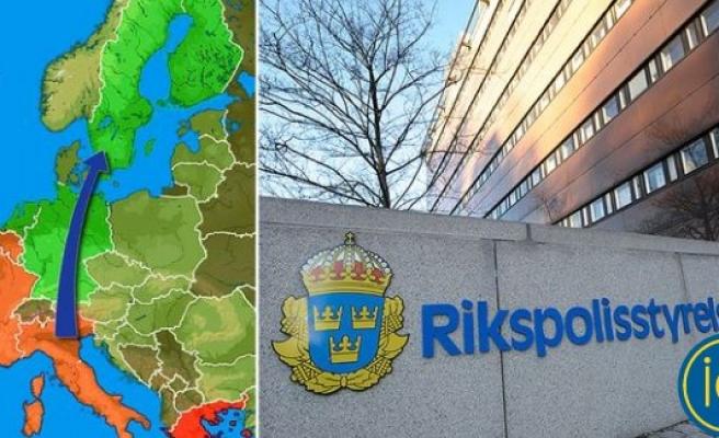 İsveç'te insan tacirlerine darbe