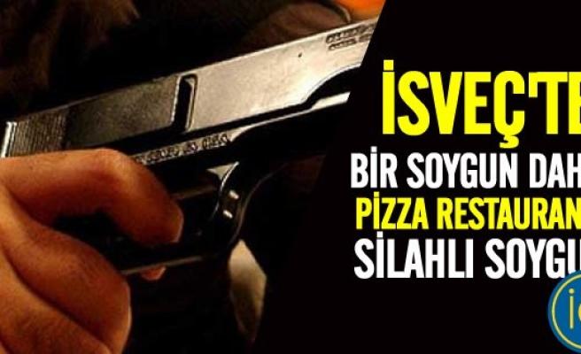 İsveç'te kar maskeli ve silahlı restaurant soygunu!