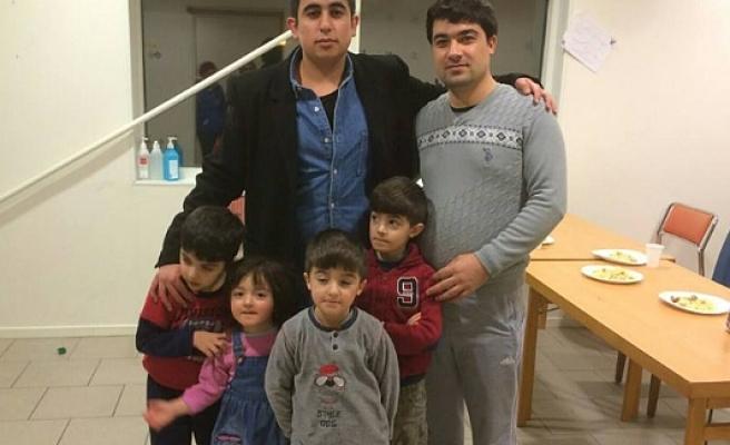 İsveç'te ki sığınmacılara UETD'den yardım eli