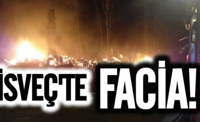 İsveç'te korkunç Villa yangını aile'den haber yok!