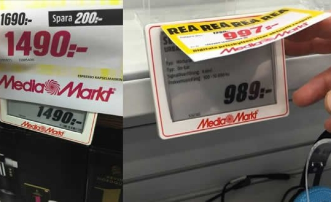 İsveç'te Media Markt'a çift fiyat tepkisi