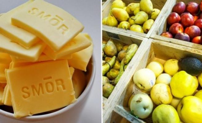 İsveç'te meyve ve margarin fiyatlarında büyük artış