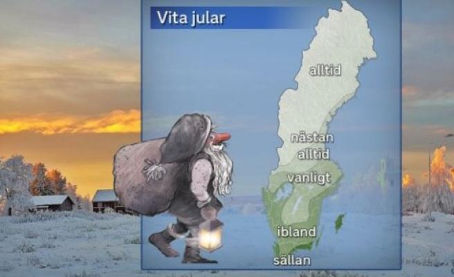 İsveç'te Noel Bayramı'nda hava nasıl olacak?