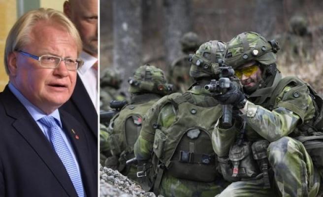 İsveç'te orduya 8,1 milyar kron ekstra para