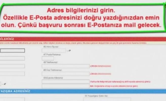 İsveç'te oy kullanabilmek için Posta ile adres beyanı!
