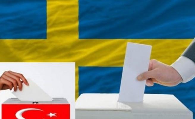 İsveç'te oy kullanma işlemi gelecek hafta