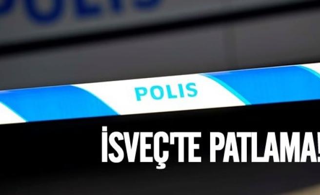 İsveç'te patlama!