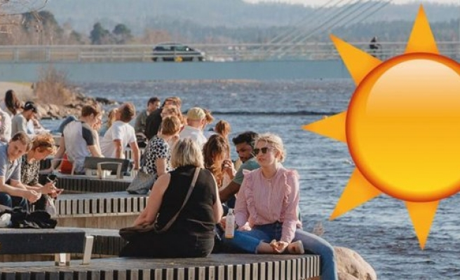 İsveç'te sıcaklık yarın 31 dereceyi bulacak