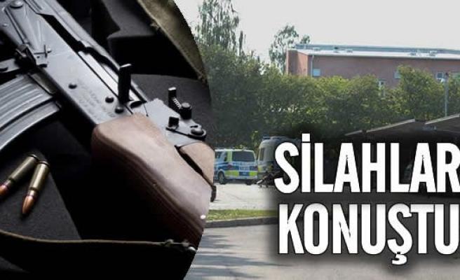 İsveç'te silahlı çatışma! 3 kişi ağır yaralı