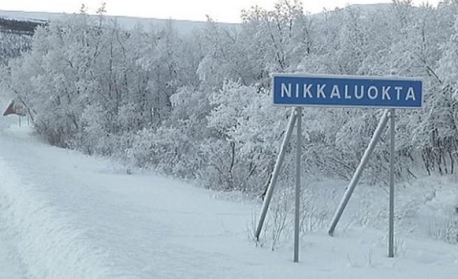 İsveç'te soğuk -25'i gördü