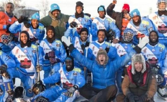 İsveç'te Somalili Göçmenlerden Kurulu Bandy Takımı Dünya Kupası'na Katılıyor