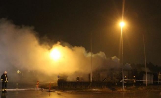 İsveç'te Süryani Derneği lokalinde yangın