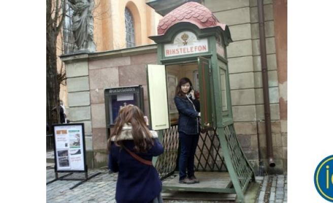İsveç'te telefon kulübeleri tarih oluyor