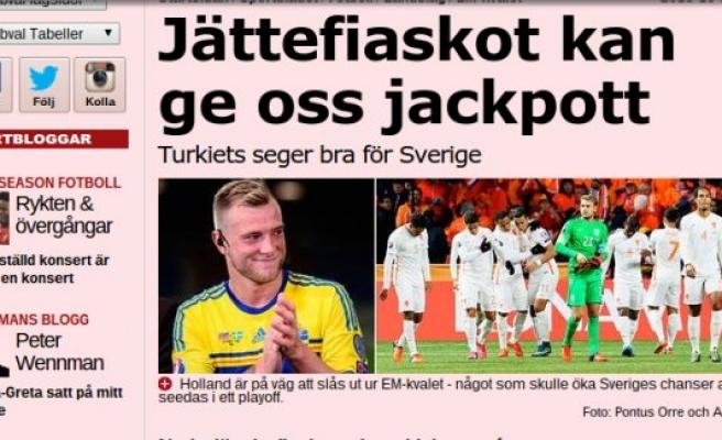 İsveç'te Türkiye sevinci