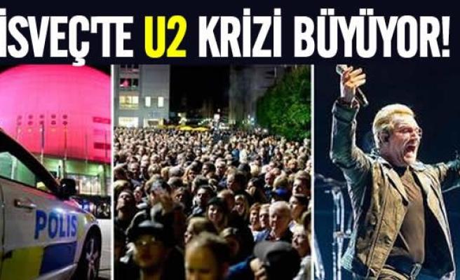 İsveç'te U2 krizi büyüyor!