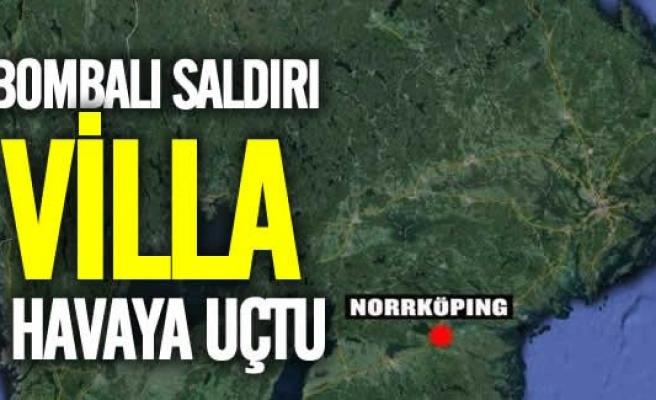 İsveç'te Villa havaya uçtu!
