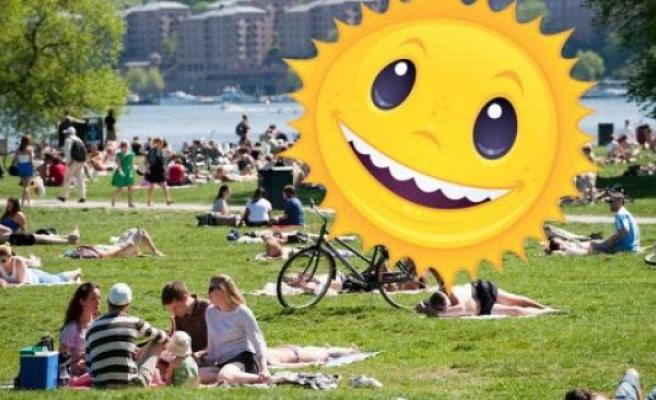 İsveç'te Yarın Yılın En Sıcak Günü