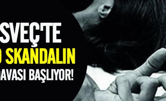 İsveç'te çiftte tecavüz davası başlıyor