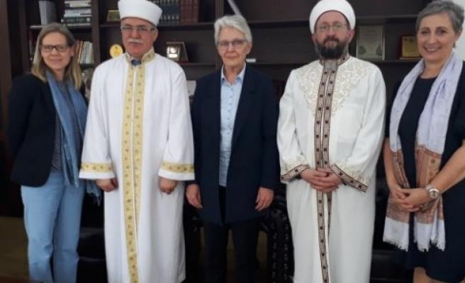 İsveç'ten bir heyet Atalay'ı ziyaret etti