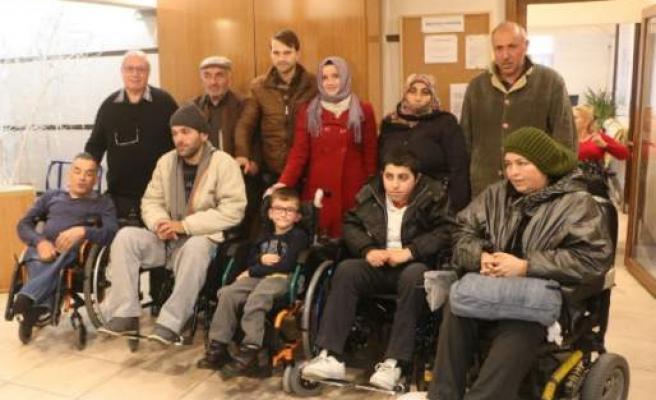 İsveç'ten Türkiye'deki Engellilere Yardım