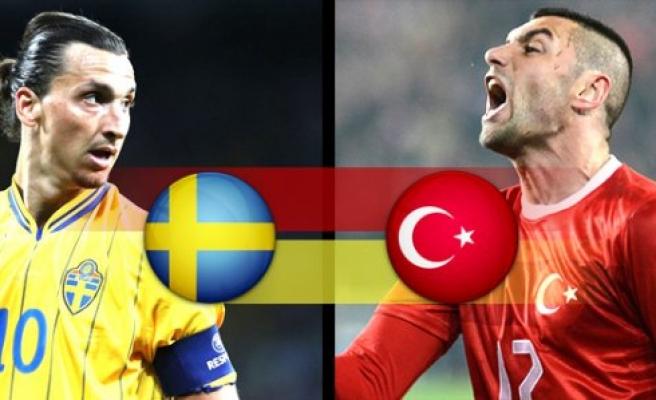İsveç ve Türkiye'nin Dünya Kupası  rakipleri  belli oldu!