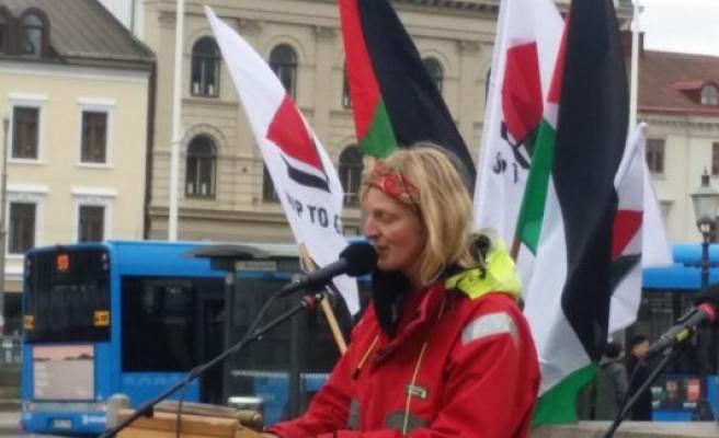 """İsveçli aktivist Ringqvist: - """"İsrail'in her istediğini yapabilecek gücünün olması dehşet verici"""""""