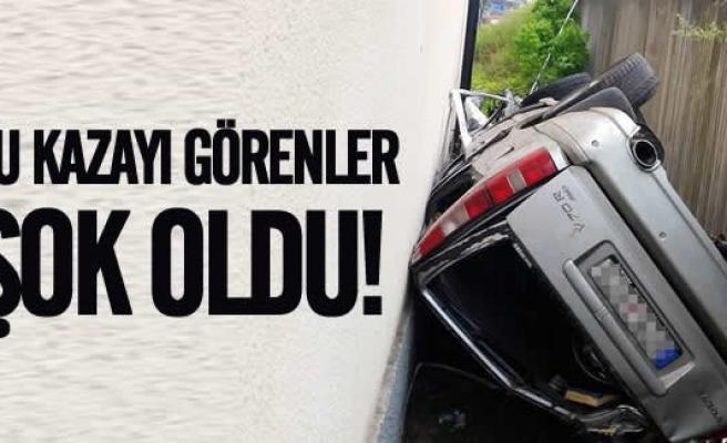 İsveçli kadın sürücüden herkesi şok eden kaza