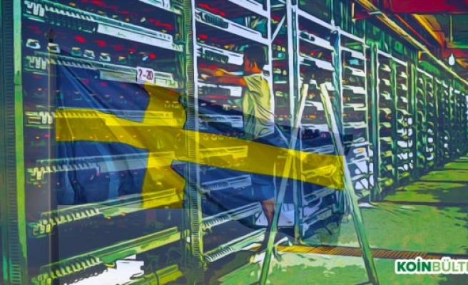 İsveç'te 100 Milyon Dolarlık Madencilik Tesisi Kuruluyor