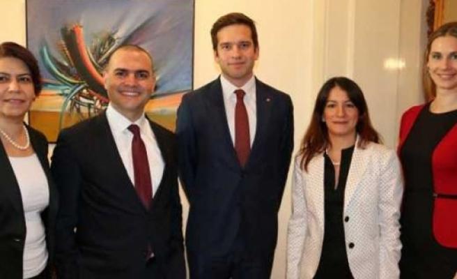 İsveç'teki cumhuriyet resepsiyonuna Sağlık Bakanı Wikström de katıldı
