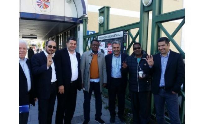 İsveç'teki Somali vatandaşlarından Abdullah Ağralı'ya büyük ilgi