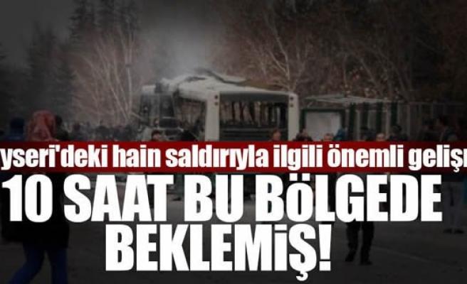 Kayseri'deki hain saldırıyla ilgili yeni gelişme!