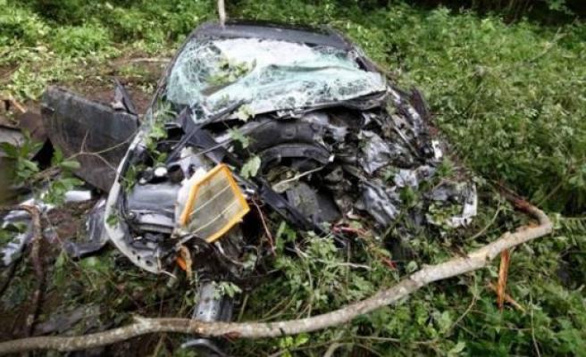 Kazada yapan İsveçli, 18 saat sonra bu arabadan sağ çıktı
